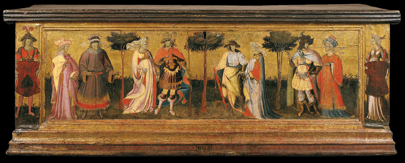 Giovanni dal Ponte, Giardino d'amore