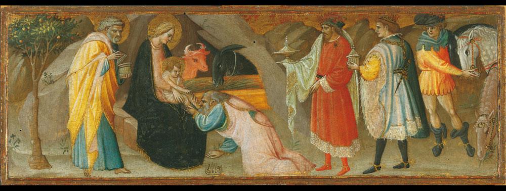 Giovanni dal Ponte, Adorazione dei Magi