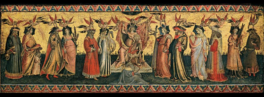 Giovanni dal Ponte, Allegoria delle sette arti liberali