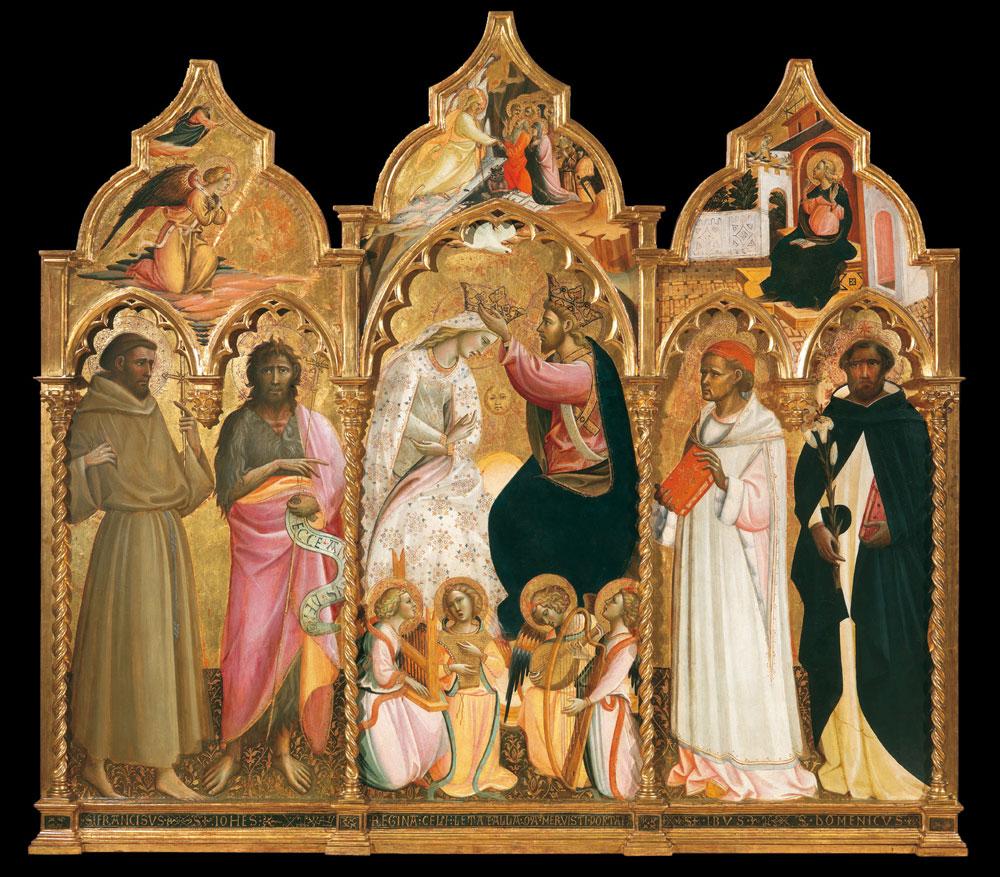 Giovanni dal Ponte, Incoronazione della Vergine