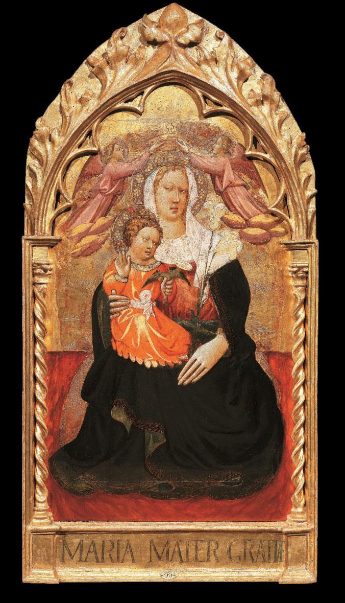 Giovanni dal Ponte, Madonna col Bambino