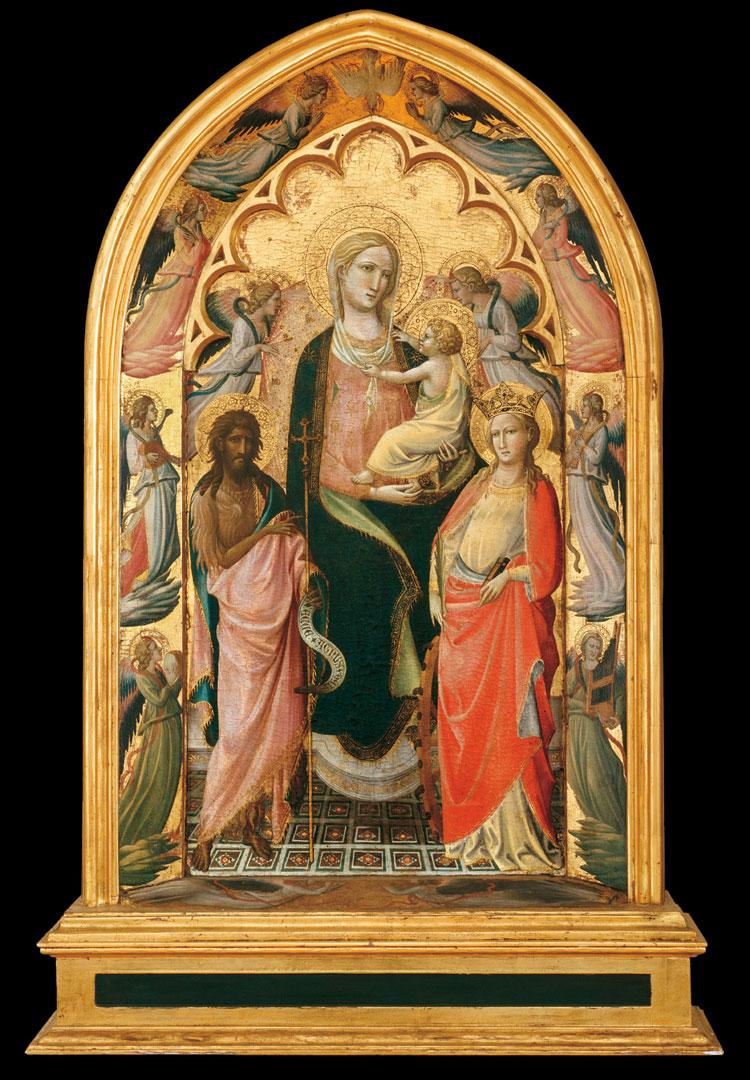 Giovanni dal Ponte, Madonna col Bambino e santi