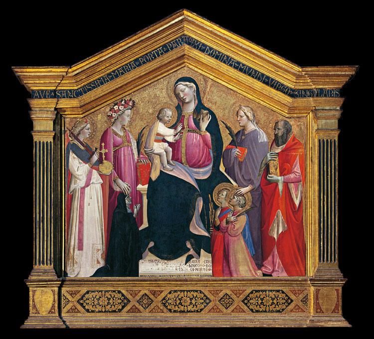 Giovanni dal Ponte, Pala di San Salvatore