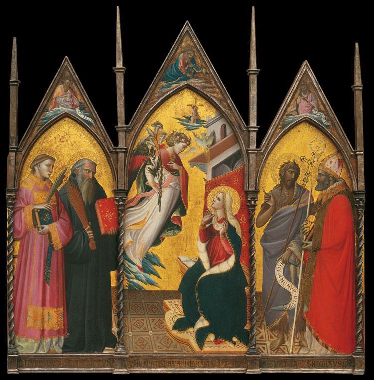 Giovanni dal Ponte, Trittico di Rosano