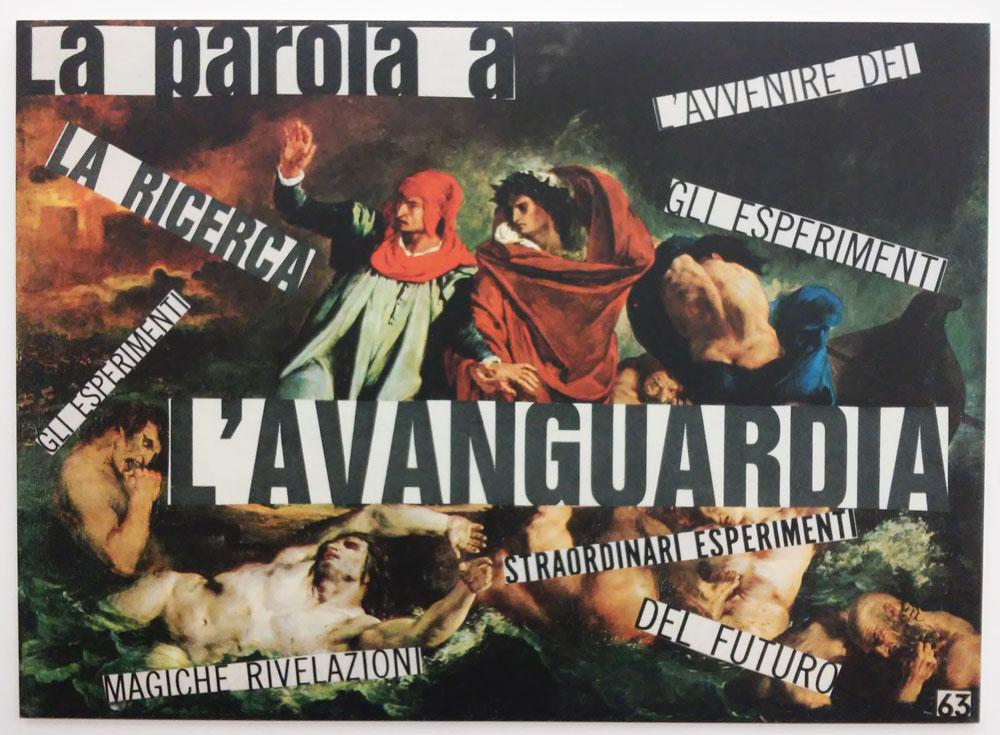 Nanni Balestrini, L'Avanguardia