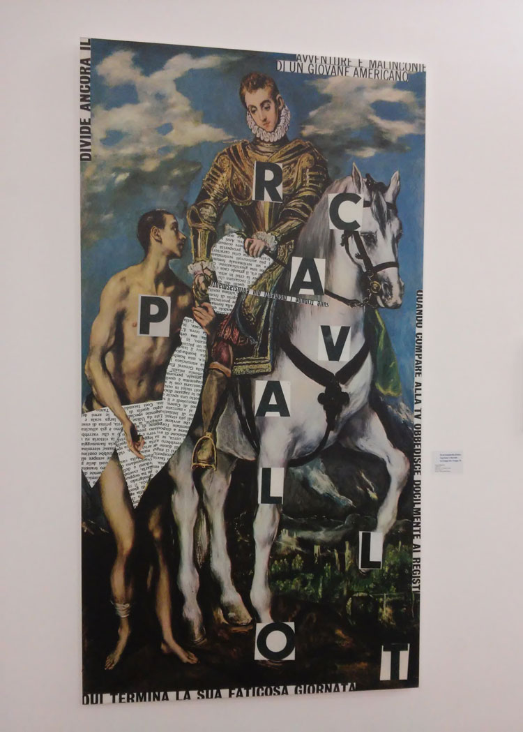 Nanni Balestrini, Cavallo