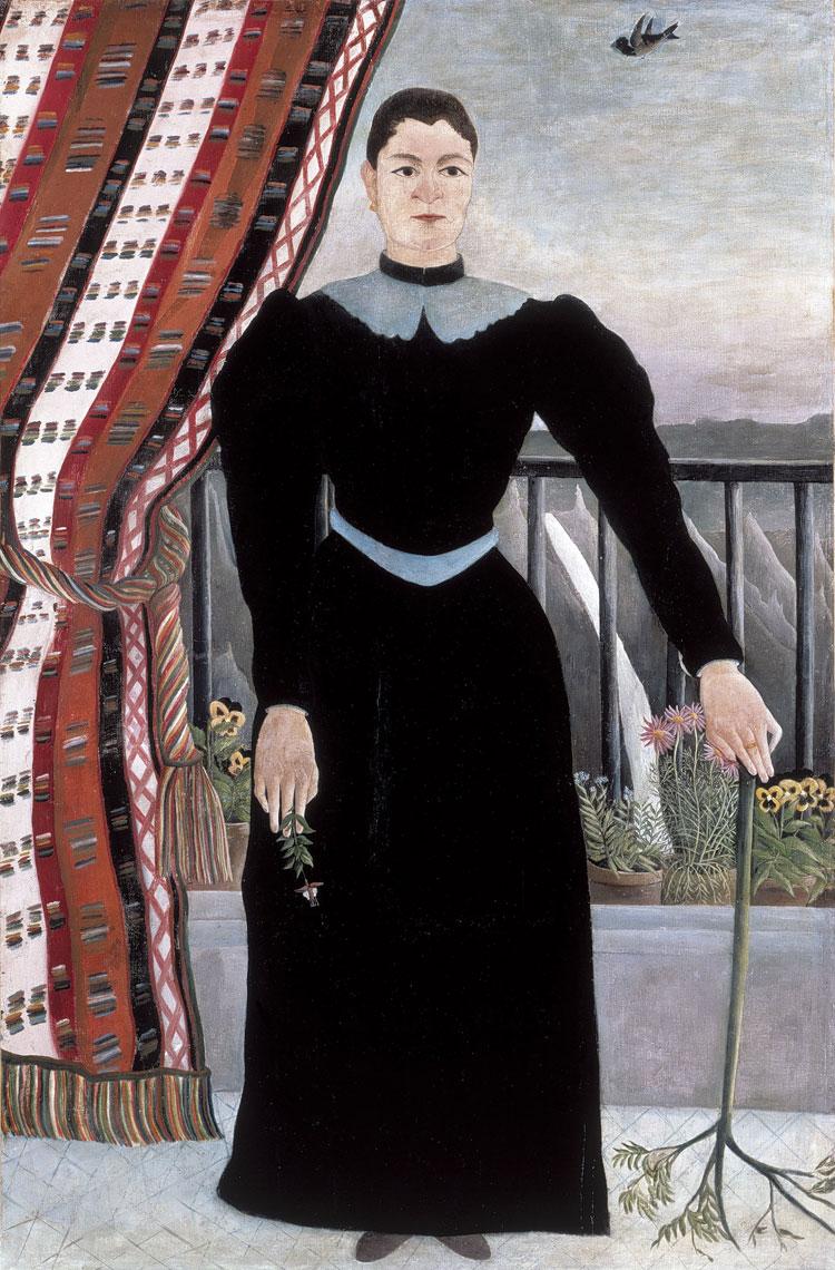 Henri Rousseau, Ritratto di donna