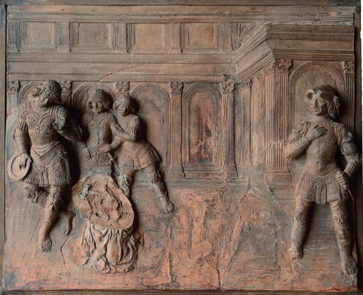 Verrocchio, Decollazione del Battista