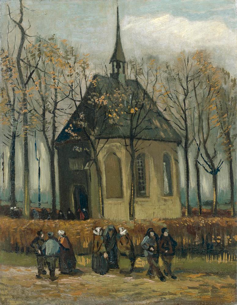 Vincent Van Gogh, Una congregazione lascia la chiesa riformata di Nuenen