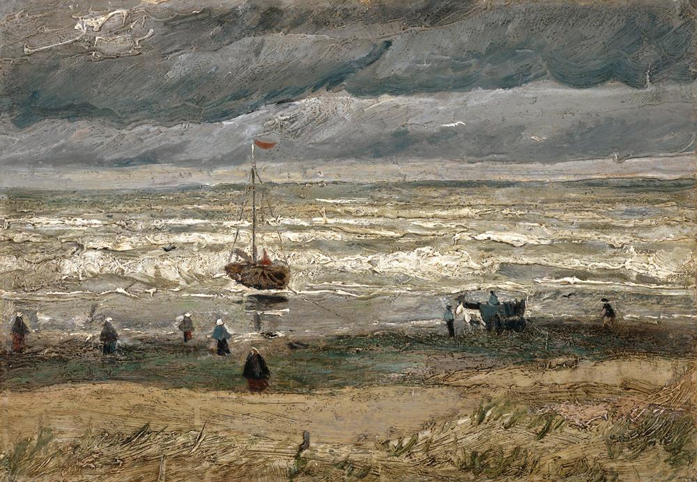 Vincent Van Gogh, Spiaggia di Scheveningen