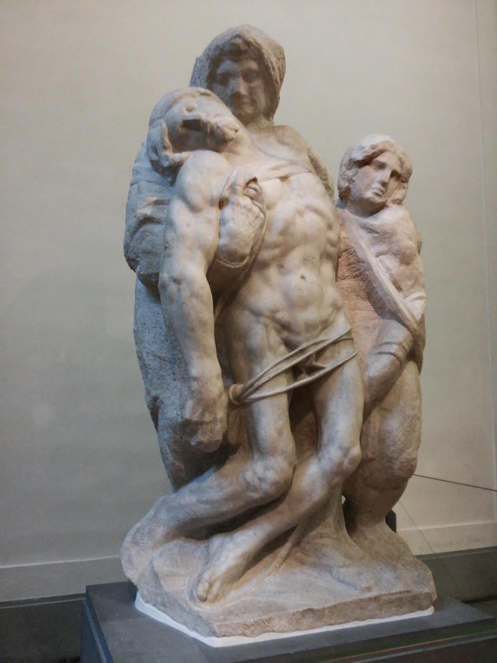 Attribuito a Michelangelo, Pietà di Palestrina