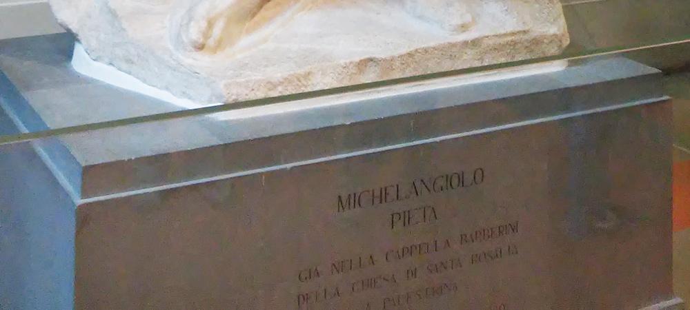 Base con attribuzione a Michelangelo