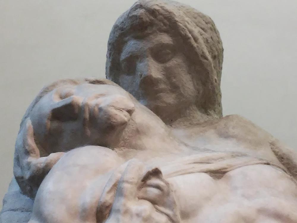 I volti di Gesù e Maria