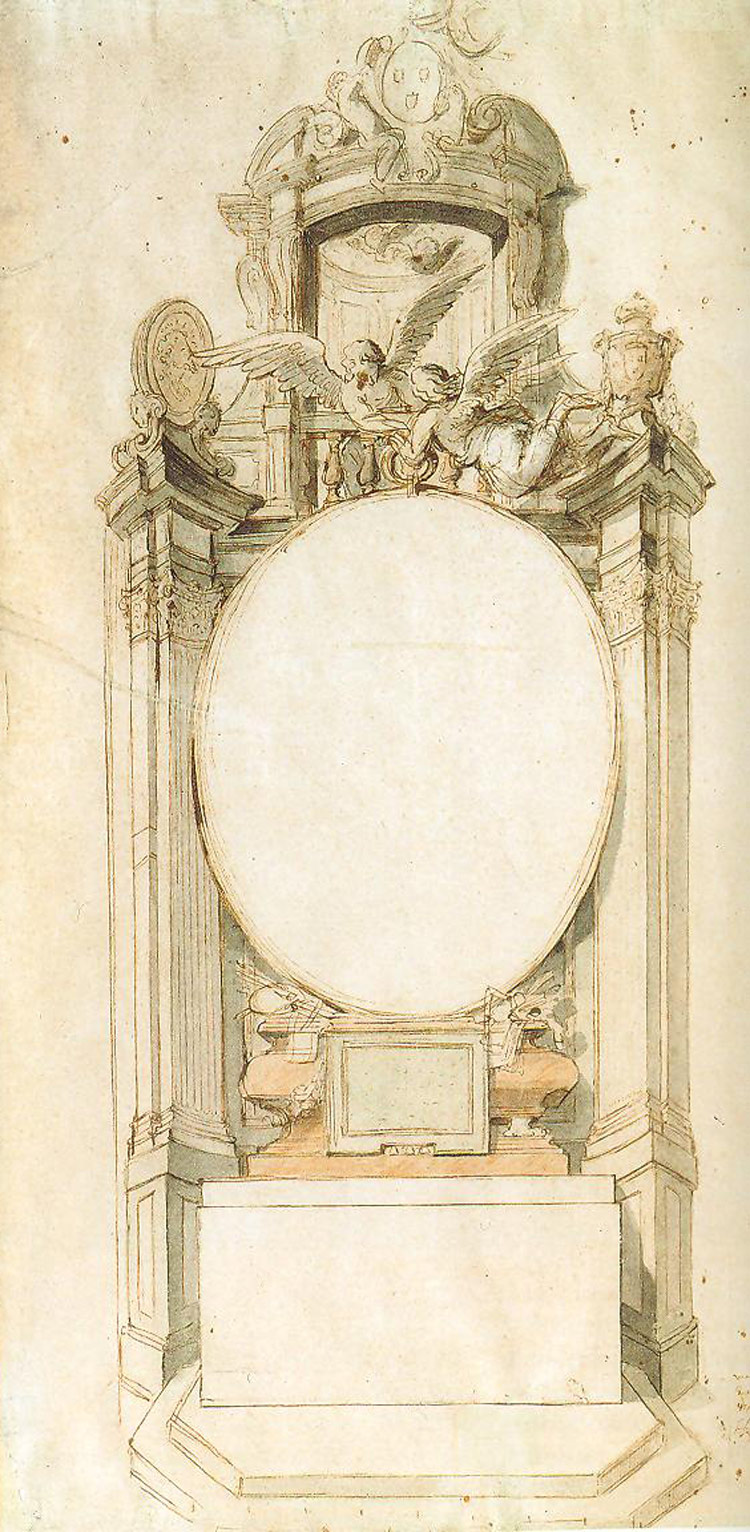 Hendrik Frans Verbrugghen, Progetto per l'altare della corporazione di San Luca nella Cattedrale di Nostra Signora di Anversa