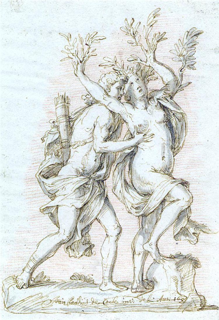 Jan Claudius de Cock, Apollo e Dafne