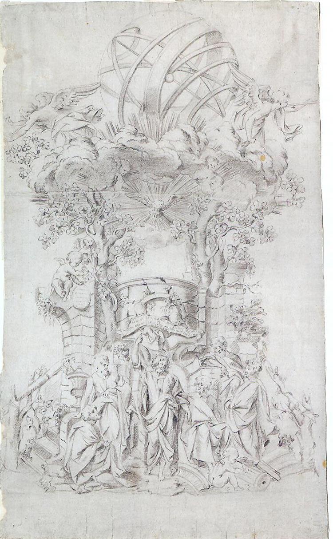Theodoor Verhaegen, Progetto per il pulpito della chiesa di Santa Caterina a Malines