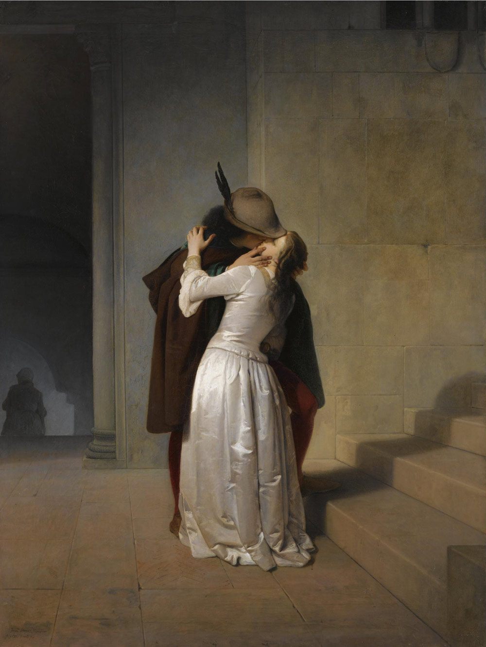 Francesco Hayez, Il Bacio (1861)