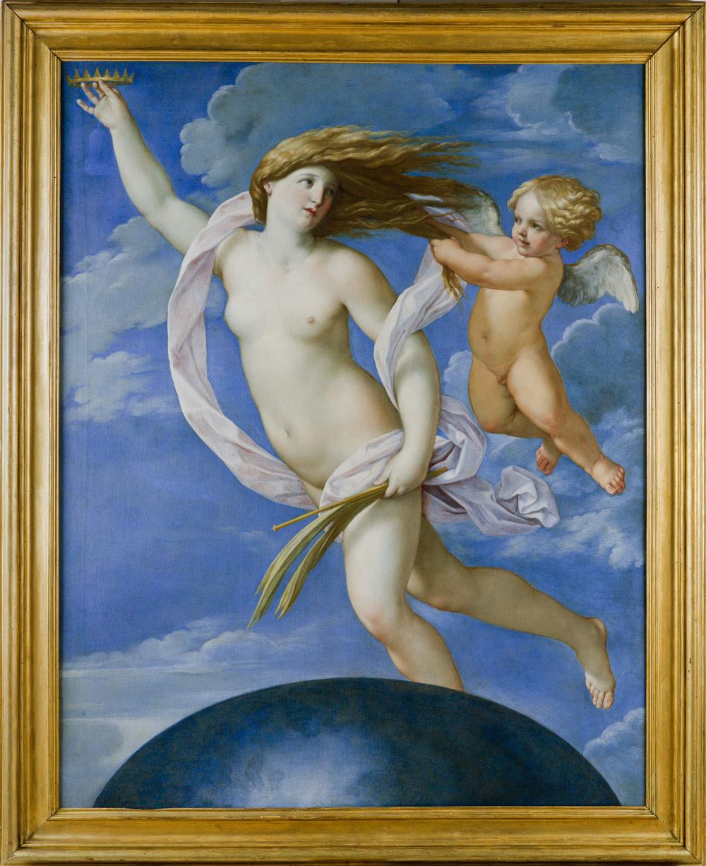 Guido Reni, La Fortuna con una corona