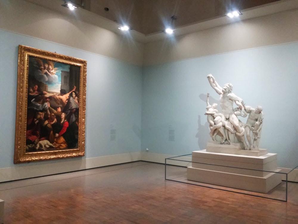 La Strage degli Innocenti di Guido Reni e il calco del Laocoonte