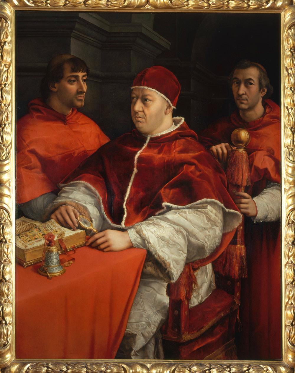 Raffaello, Ritratto di Leone X