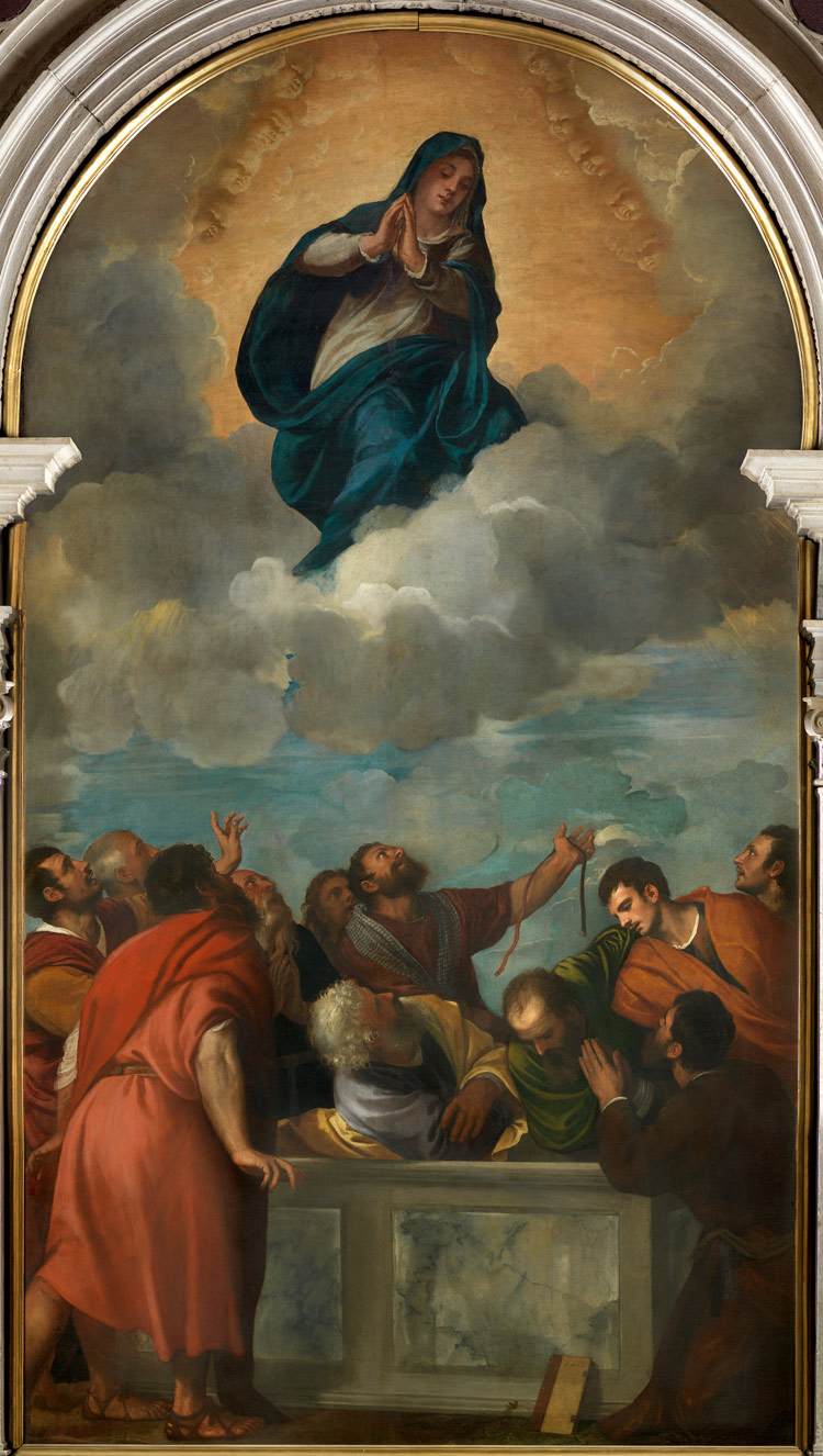 Tiziano, Assunzione della Vergine