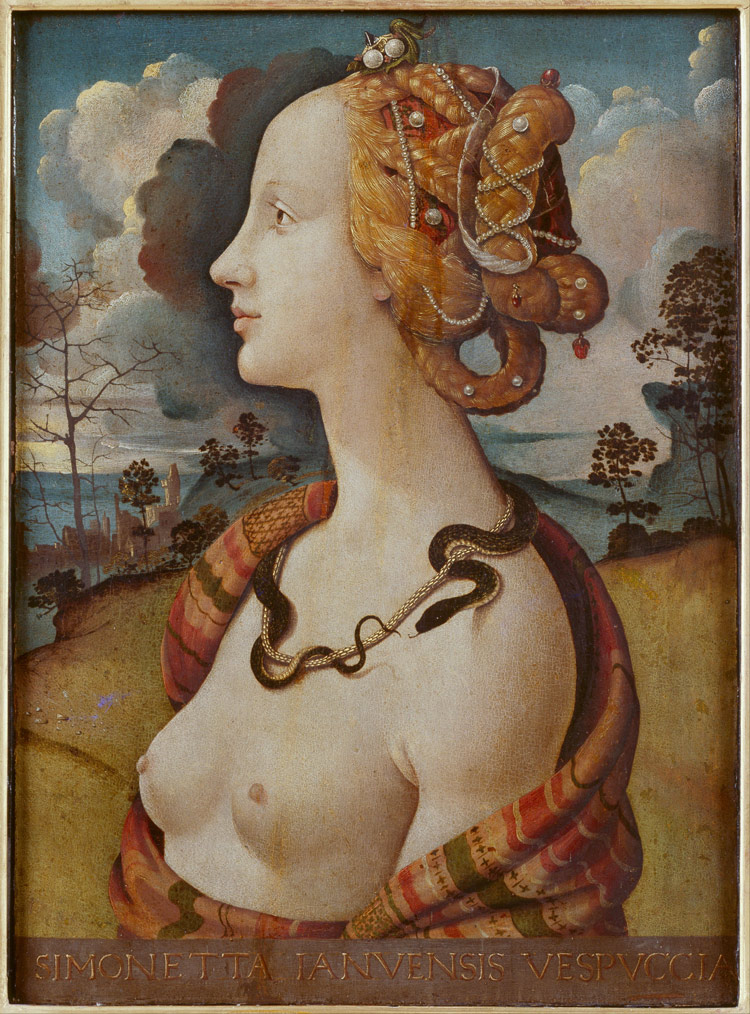 Piero di Cosimo, Simonetta Vespucci come Cleopatra