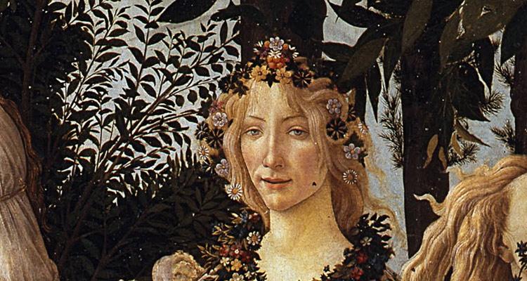Sandro Botticelli, Primavera, Particolare