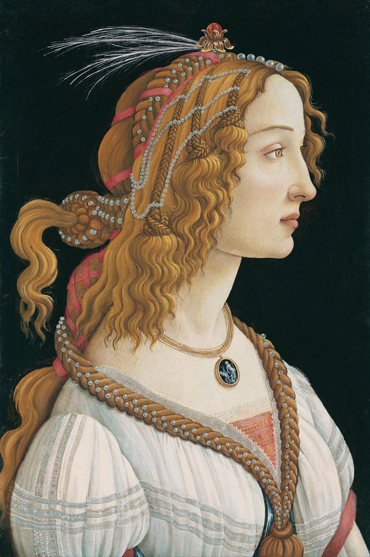 Sandro Botticelli, Ritratto di Dama, Francoforte