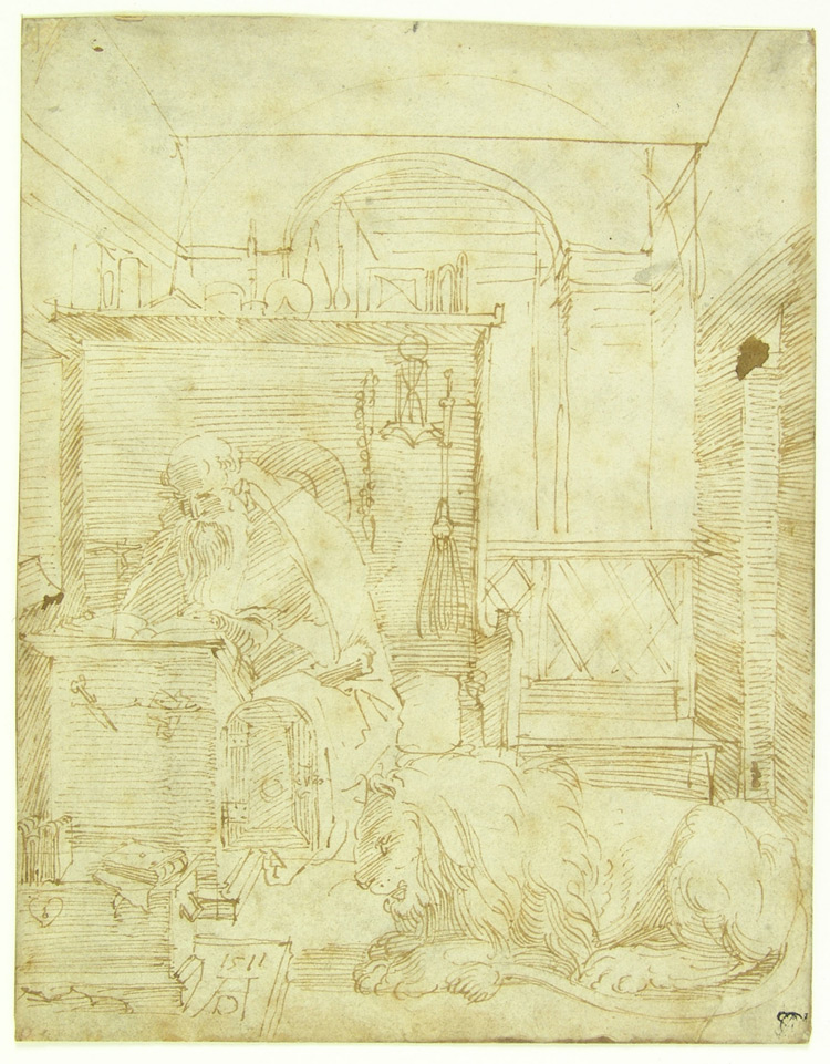 Albrecht Dürer, San Girolamo nello studio