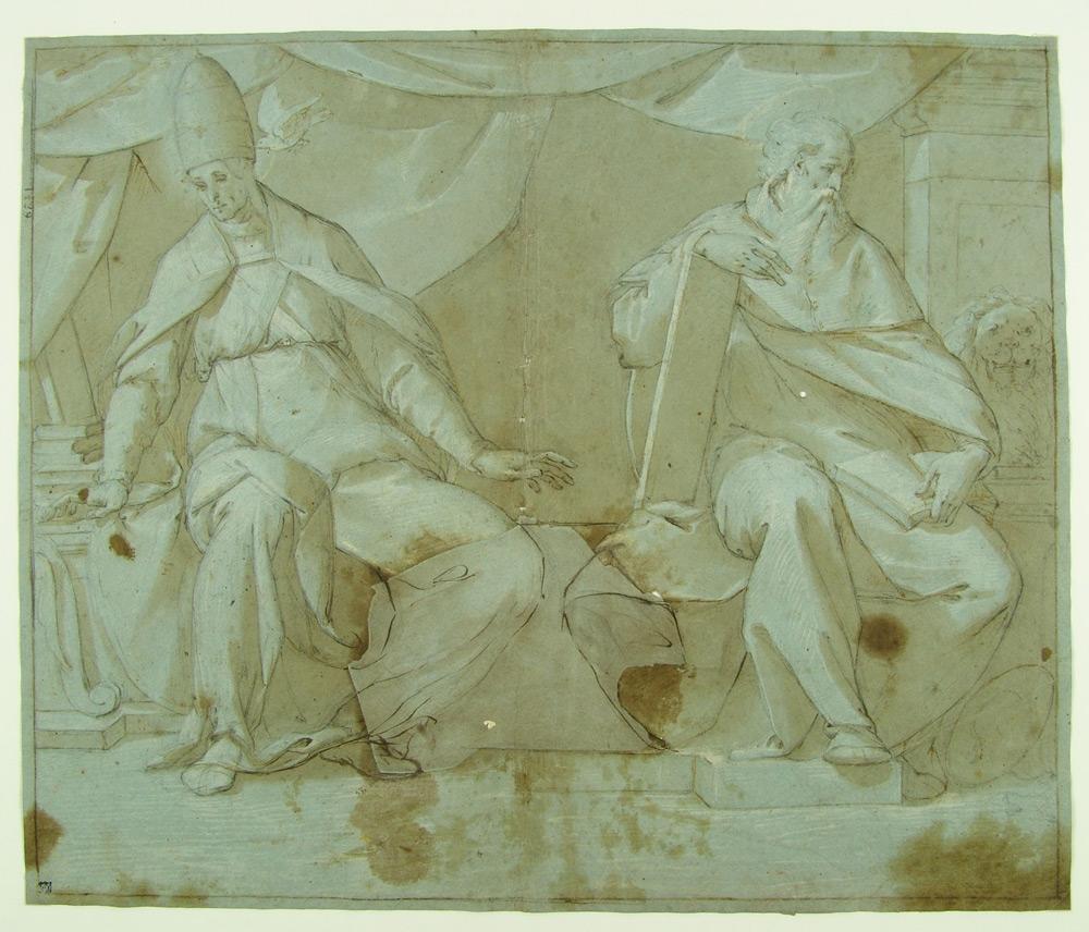 Isidoro Bianchi, San Gregorio e san Girolamo
