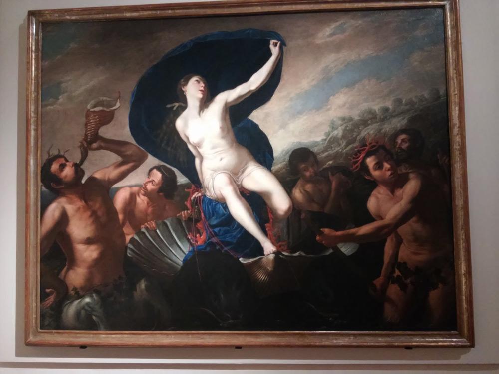 Artemisia Gentileschi, Trionfo di Galatea