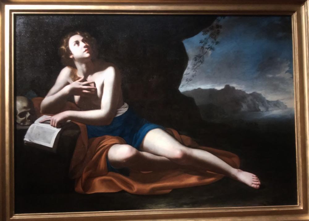 Artemisia Gentileschi, Maddalena penitente