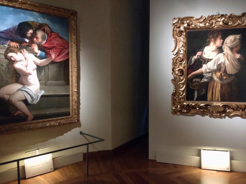 Artemisia: la Susanna di Pommersfelden e la Giuditta di Palazzo Pitti