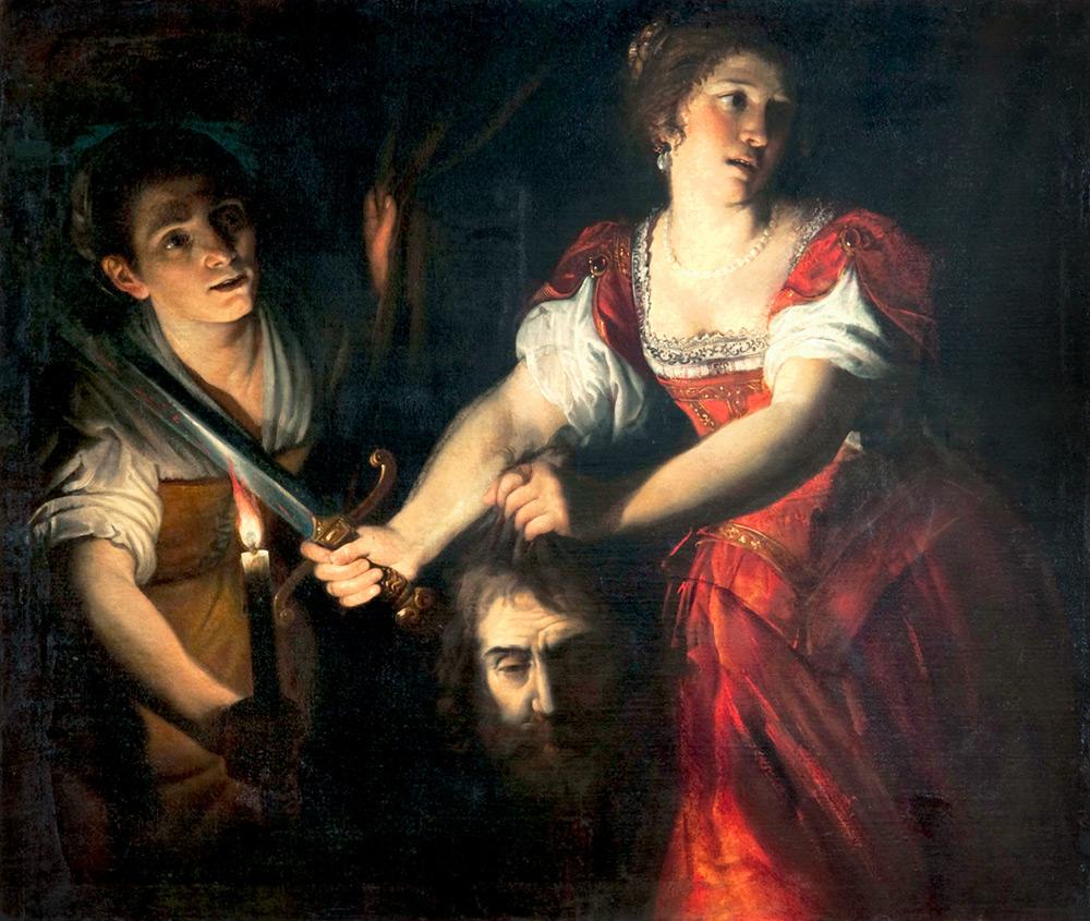 Domenico Fiasella, Giuditta con la testa di Oloferne