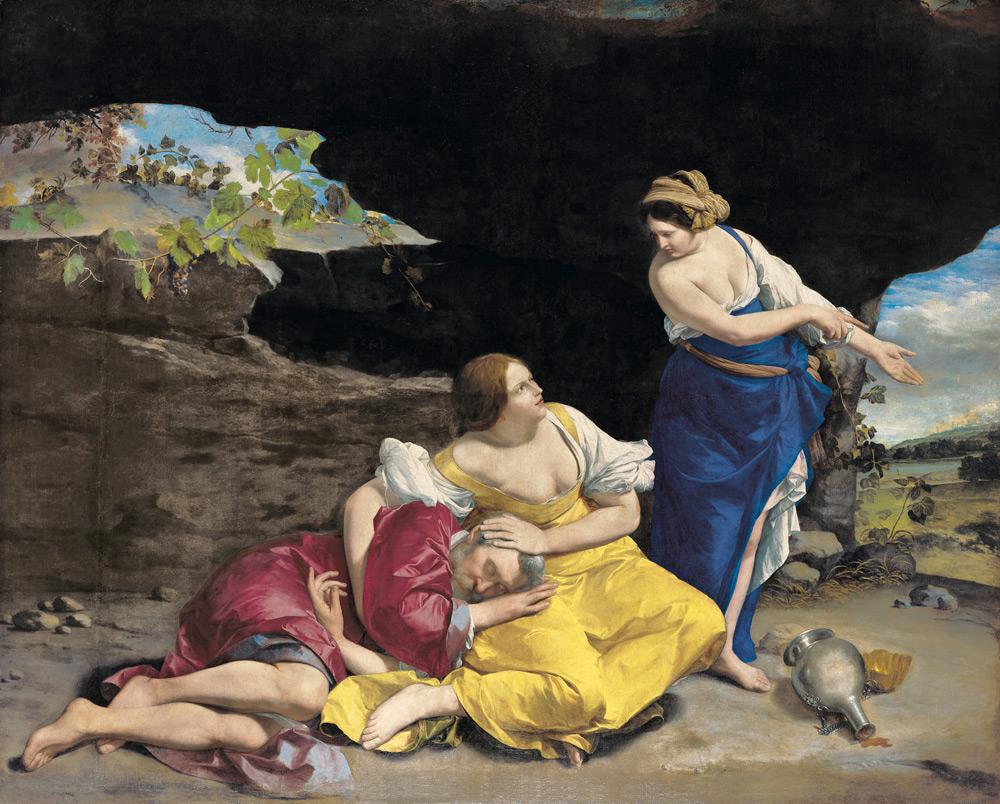 Orazio Gentileschi, Lot e le figlie