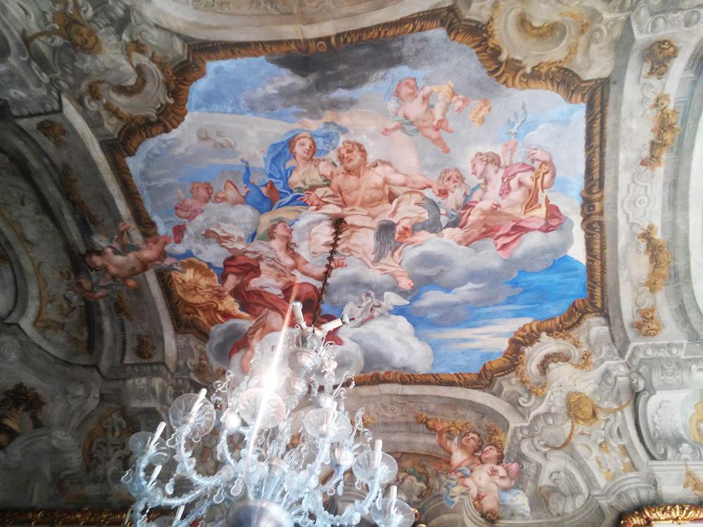 Paolo Gerolamo Piola, Il concilio degli dèi