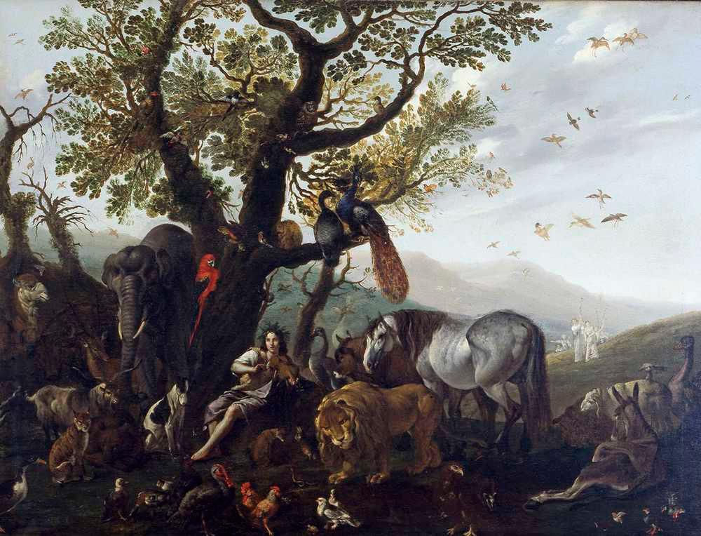 Sinibaldo Scorza, Orfeo incanta gli animali