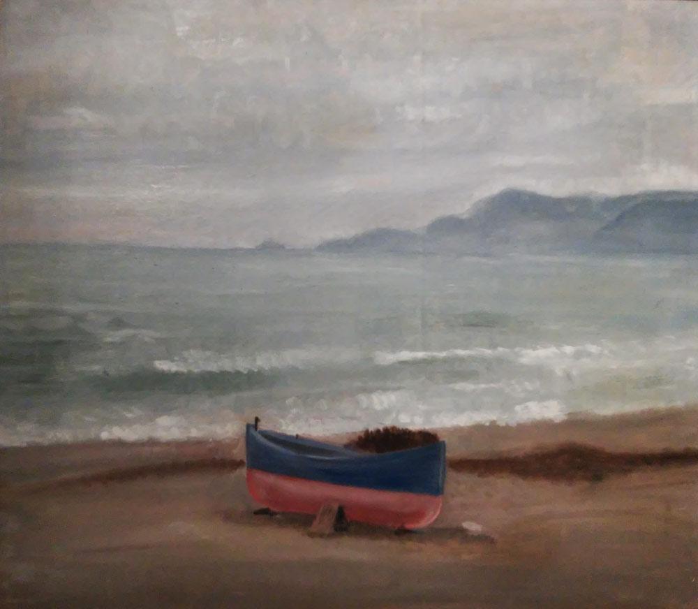 Arturo Dazzi, Barca sulla spiaggia