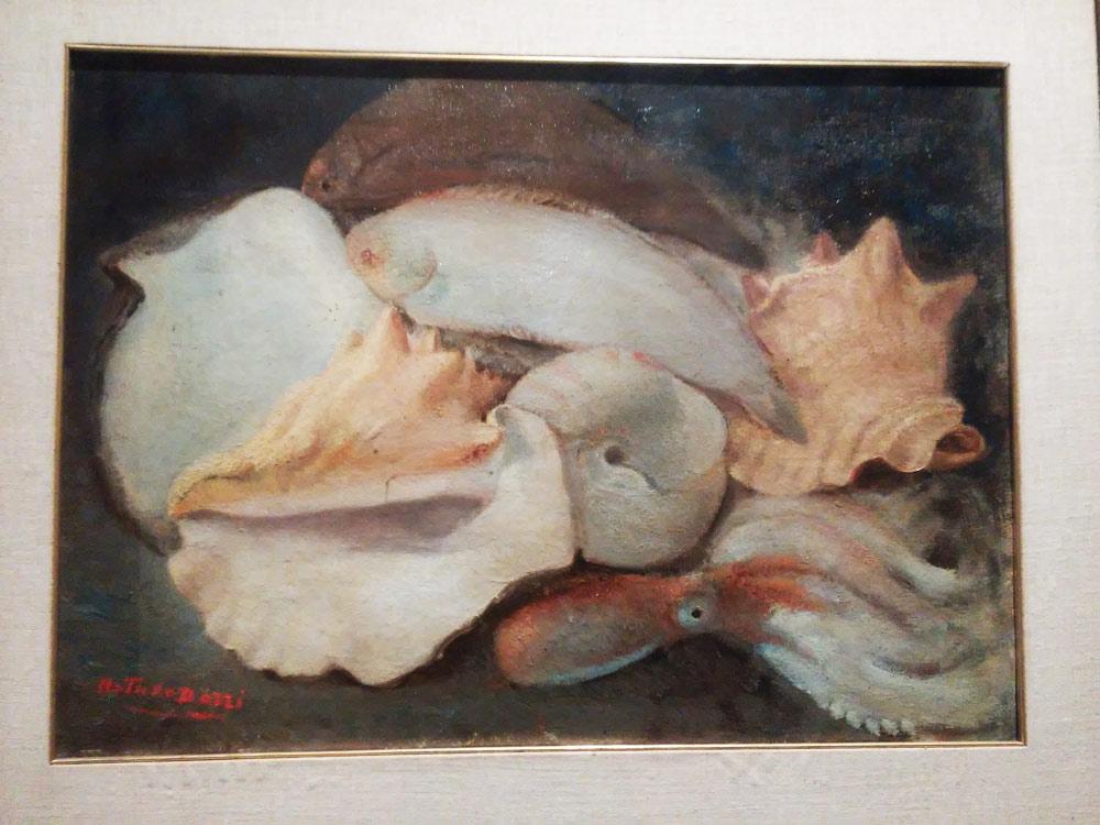 Arturo Dazzi, Pesci con conchiglie
