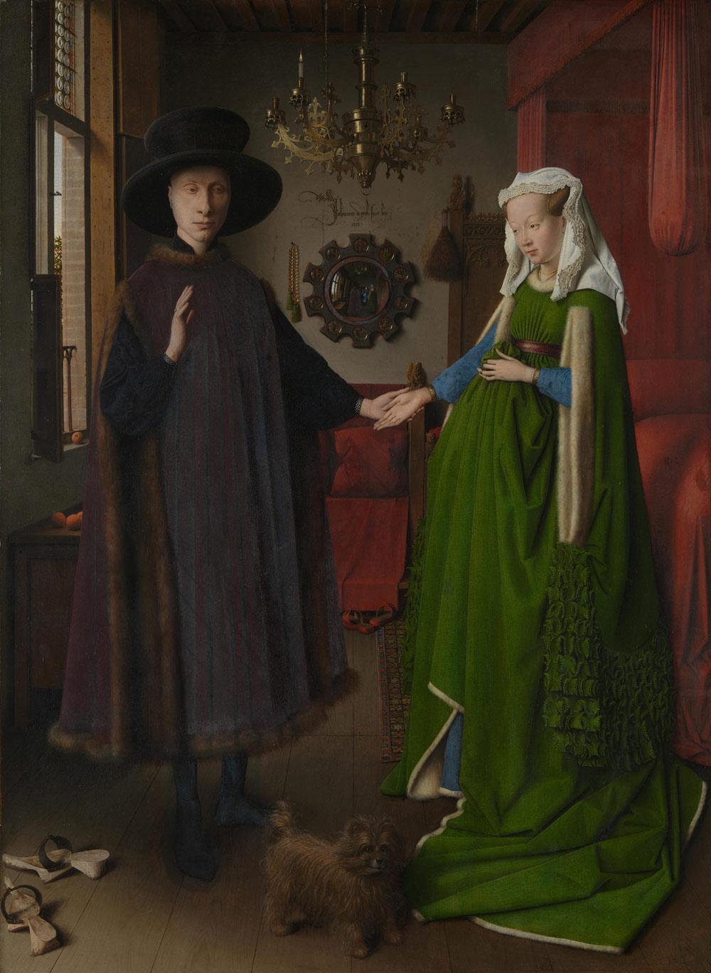Jan van Eyck, Ritratto dei coniugi Arnolfini