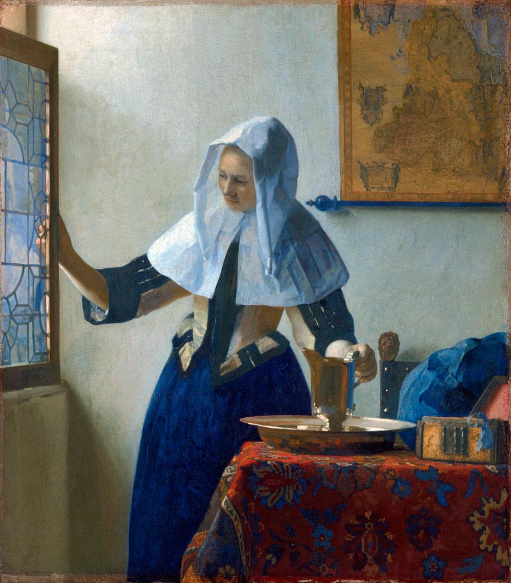 Jan Vermeer, Giovane con brocca d'acqua