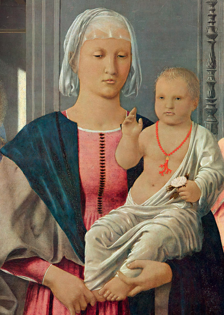 La Madonna col Bambino