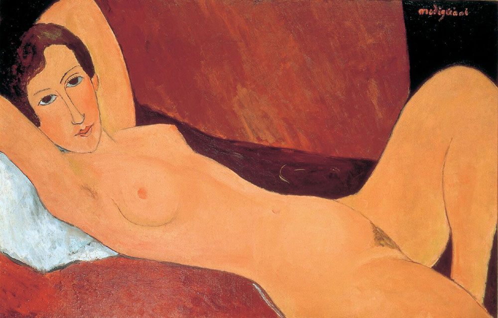 Amedeo Modigliani, Nudo disteso