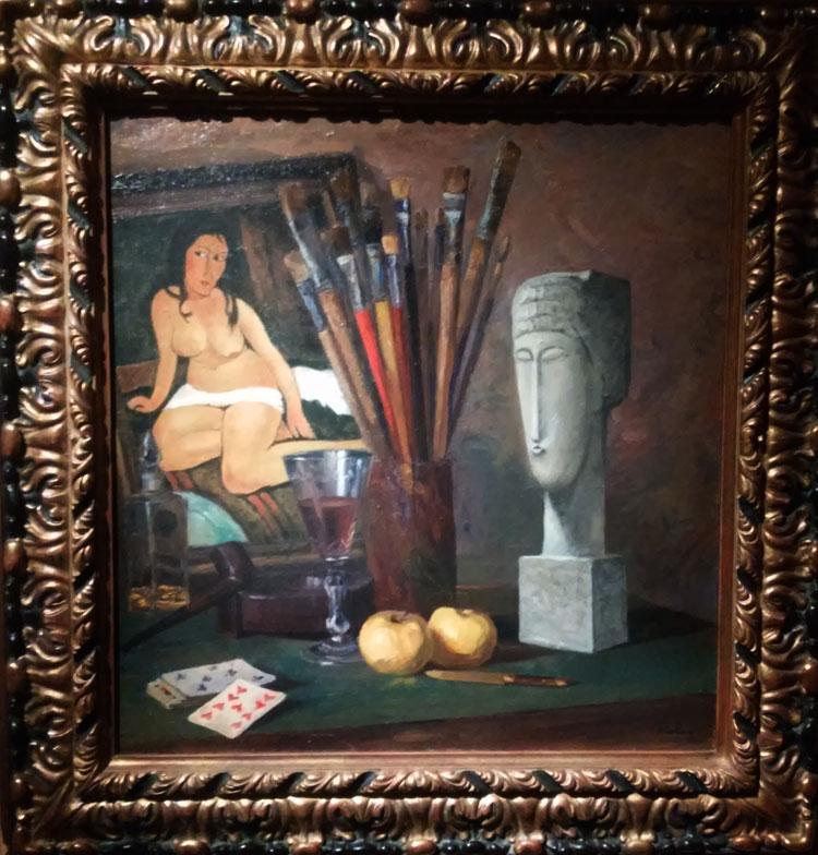 Moïse Kisling e Amedeo Modigliani, L'atelier di Moïse Kisling
