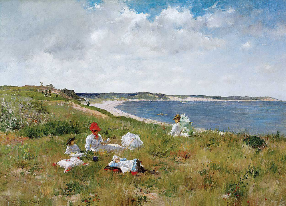 William Merritt Chase, Ore pigre