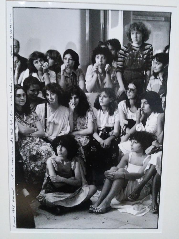 Tano D'Amico, Roma 1978. Assemblea nel reparto occupato del Policlinico Umberto I