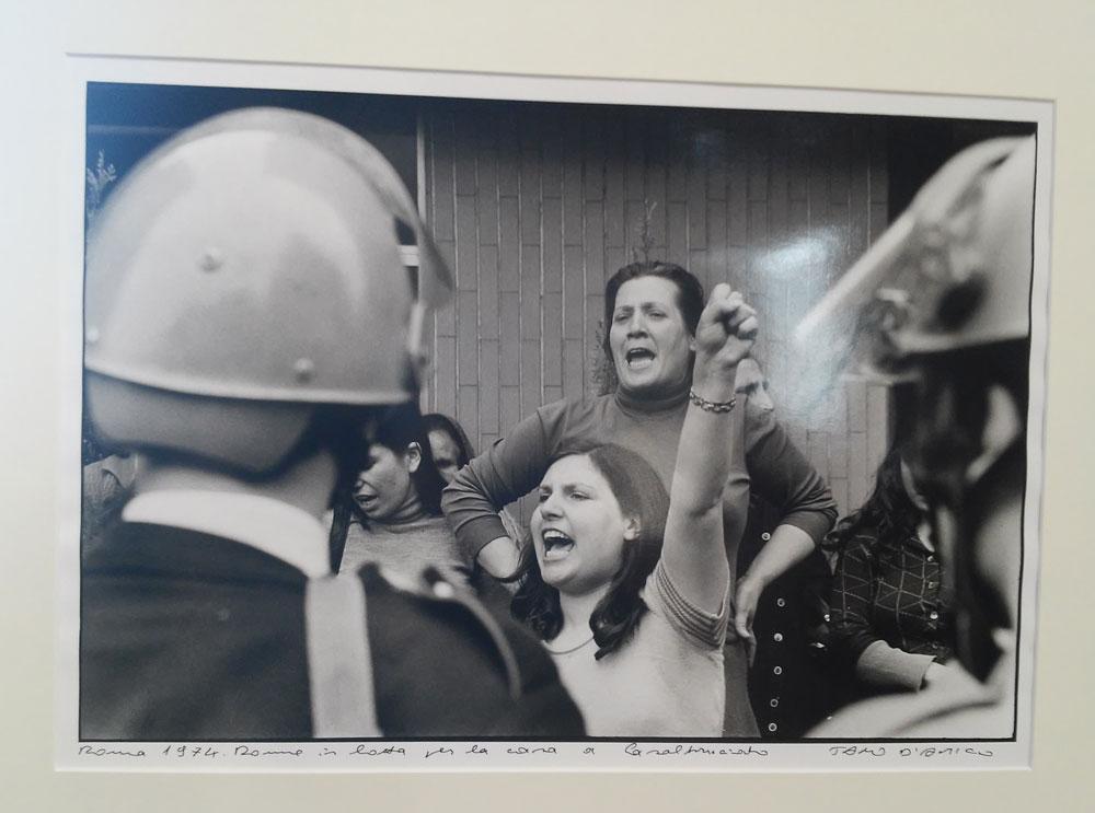 Tano D'Amico, Roma 1974. Donne in lotta per la casa a Casal Bruciato