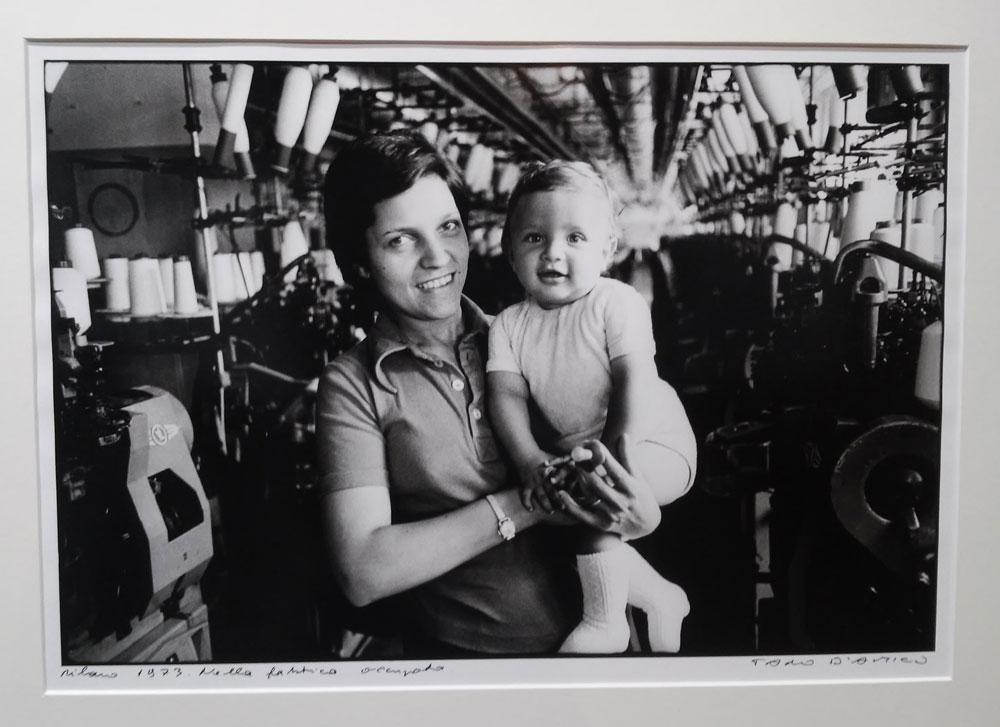 Tano D'Amico, Milano 1973. Nella fabbrica occupata