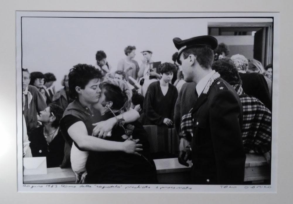 Tano D'Amico, Ragusa 1983. Donne della Ragnatela picchiate e processate