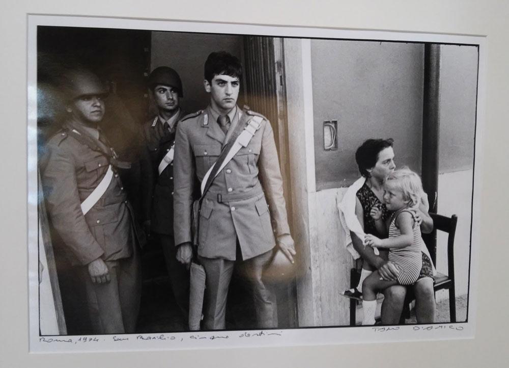 Tano D'Amico, Roma 1974. San Basilio, Cinque destini